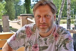 Příbramský herec Libor Jeník.