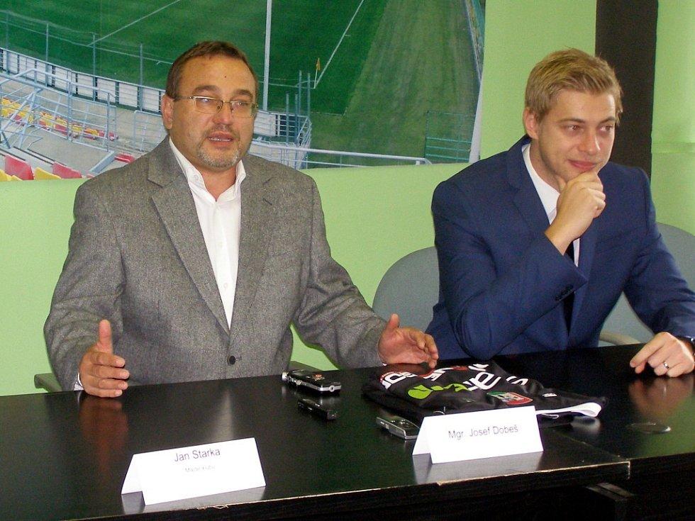 Josef Dobeš se stal členem vedení 1.FK Příbram. Bude mít na starost mládežnickou akademii.