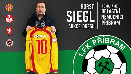 Aukce dresu Horsta Siegla.