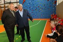 V milínské škole mají novou tělocvičnu.