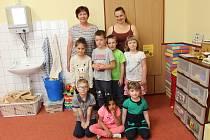 Předškoláci v Mateřské škole v Krásné Hoře nad Vltavou.