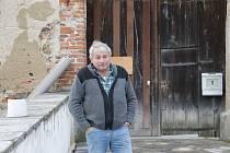 Restaurátor a majitel zámku ve Zbenicích Jiří Češka.