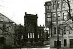 Demolice synagogy v Příbrami byla provedena 10. dubna 1969 ve 12 hodin a 10 minut.