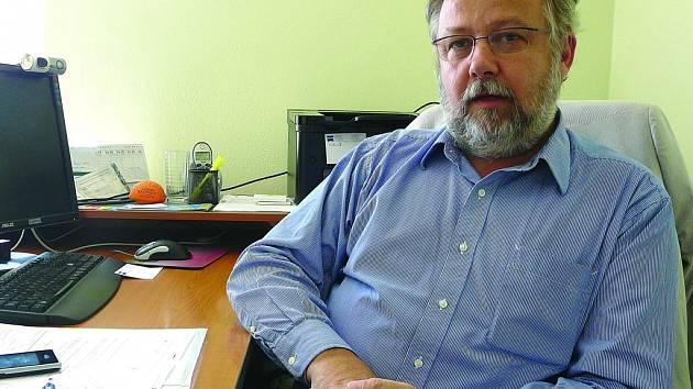 Ředitel sedlčanské nemocnice Roman Vanžura.