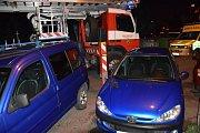 Při nočním požáru v Příbrami zemřel člověk.
