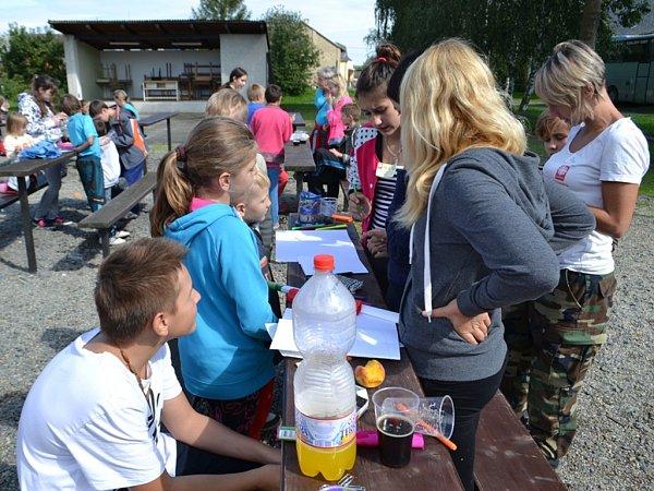 Děti vyrazily sFarní charitou Příbram do přírody.