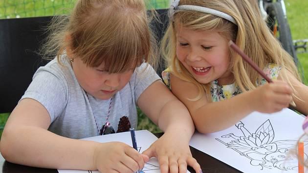 Dětský den se nesl v duchu plnění úkolů z nejrůznějších oblastí.