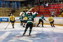 Příbram v úvodním kole druhé hokejové ligy porazila Písek 3:2 v prodloužení