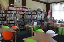 Dětské oddělení v Knihovně Jana Drdy v Příbrami.