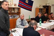 Schůzka obyvatel Březových Hor s vedením města.