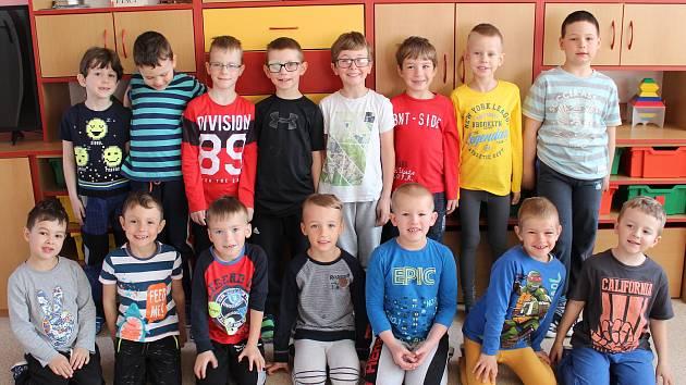 Děti v Mateřské škole Příbram VII, Bratří Čapků 278.