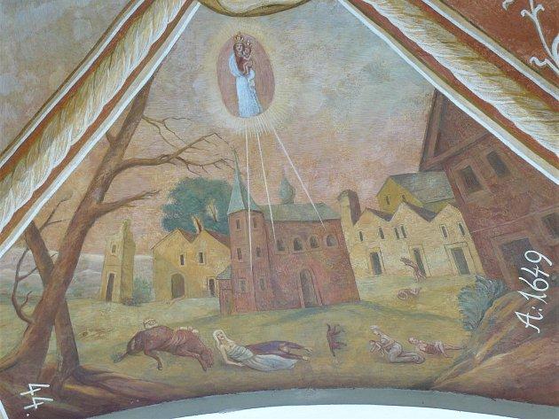 Sto svatohorských milostí: obraz číslo 44.