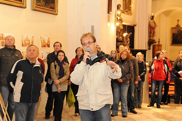 Noc kostelů v kostele sv. Jakuba na náměstí TGM.