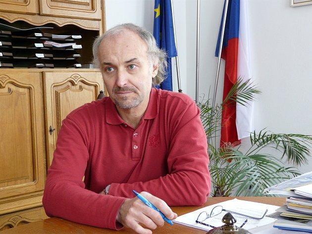 Starosta Dublovic Otakar Jeřicha.