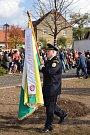Oslavy 100 let republiky ve Hvožďanech.
