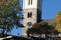 Kostel Nanebevzetí Panny Marie v Obděnicích.