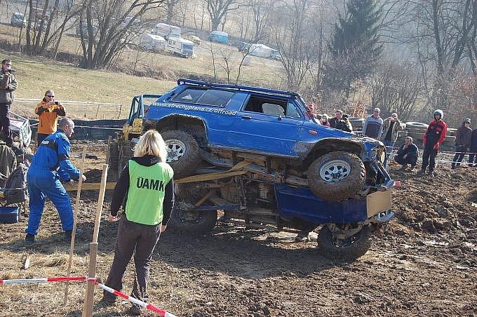 Off road trial v Sedlčanské kotlině