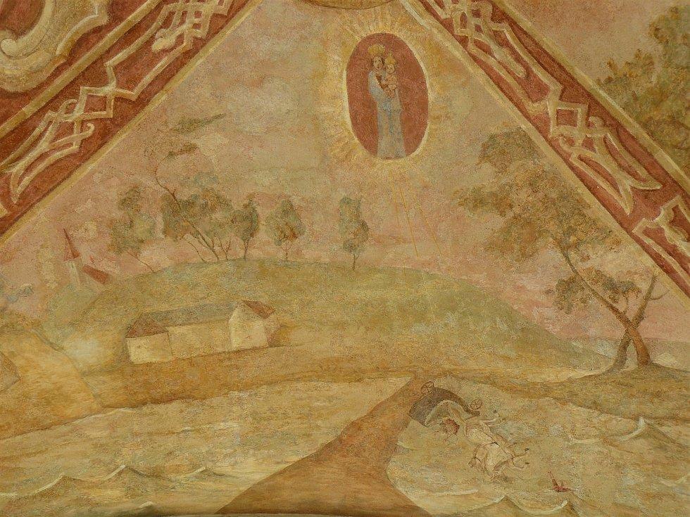 Sto svatohorských milostí: obraz číslo 73.