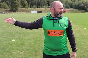 Ragbyový trenér Tomáš Kabrhel.