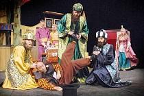 Představení příbramského divadla. Ilustrační foto