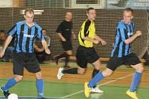 Divize futsalu: HFK Příbram - MCE Slaný (6:8).