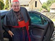 Kardinál Dominika Duka sloužil mši v Příčovech.