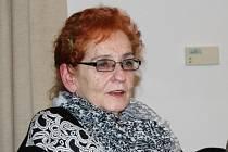 MAGDA BURIANOVÁ, předsedkyně Svazu tělesně postižených v Milíně i v Příbrami.