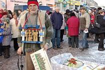 Rekord v Sedlčanech - Nejvíce lidí s betlémem na jednom místě