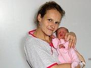 Barbora Tuháčková se narodila 21. listopadu s váhou 2,5 kg a mírou 48 cm Zdeňce a Pavlovi z Milína. Doma už se na sestřičku těší Daník (6).