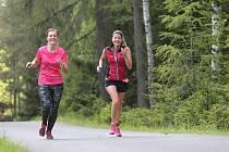 Z terénního běžeckého závodu Brdská 25.