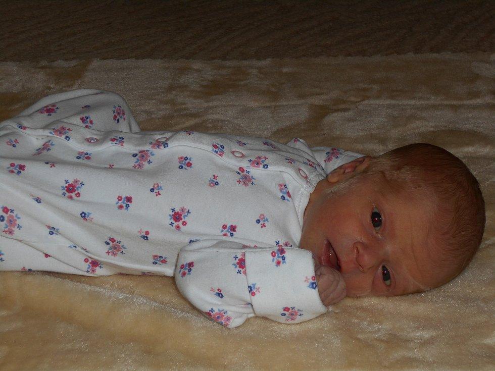 Amálka Křivonosková se narodila 29. října 2018, vážila 2820 g a měřila 48 cm. Maminka Naďa Křivonosková a tatínek Miloš Křivonoska z Višňové a tříletý bráška Adámek.