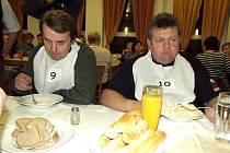 ČEST REGIONU zachraňovali Miroslav Mácha (vlevo) a Jiří Tůma.