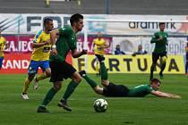 Zápas 30. kola FORTUNA:LIGY FK Teplice - 1. FK Příbram 0:0.