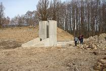 Oprava Vokačovského rybníku.