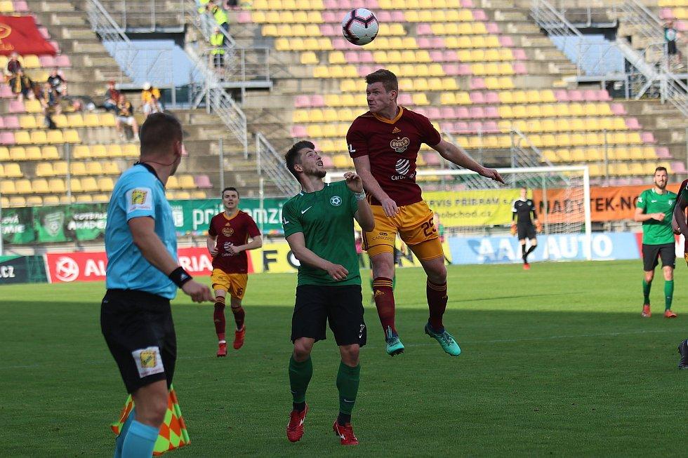 1. FK Příbram - Dukla Praha 3:2 (1:1).