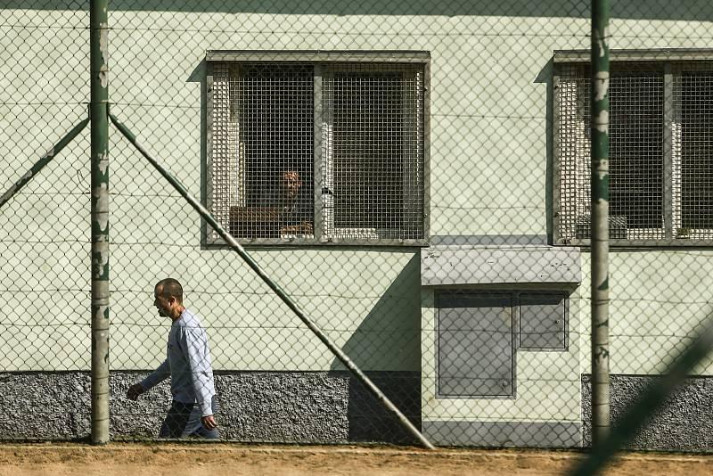 Věznice Příbram v sobotu 24. července 2021.