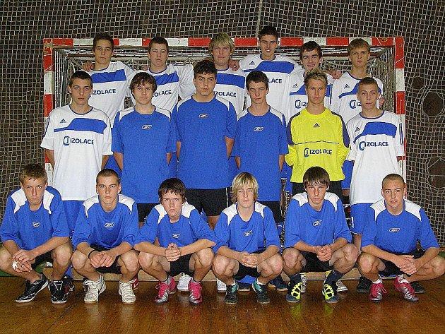 Junioři HFK Příbram - účastníci 1. ligy futsalu 2011/12.
