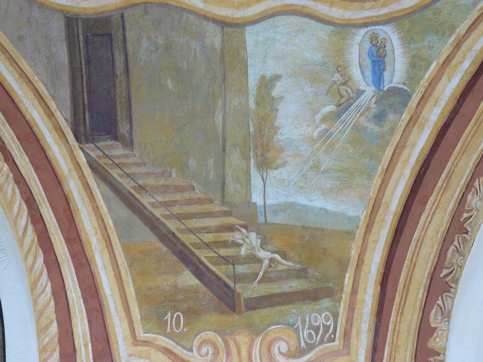 Sto svatohorských milostí: obraz číslo 10.