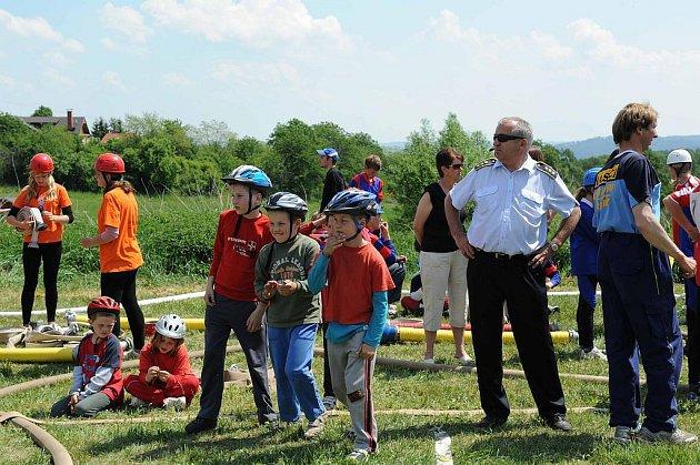 Celoroční soutěži mladých hasičů ve hře Plamen. Ilustrační foto.