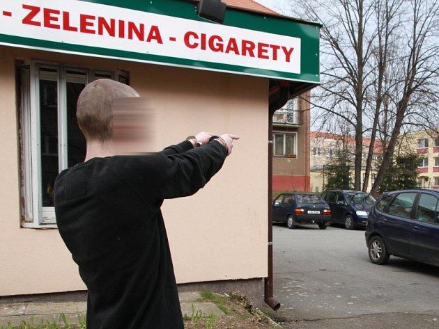 Snímky z prověrky na místě činu.
