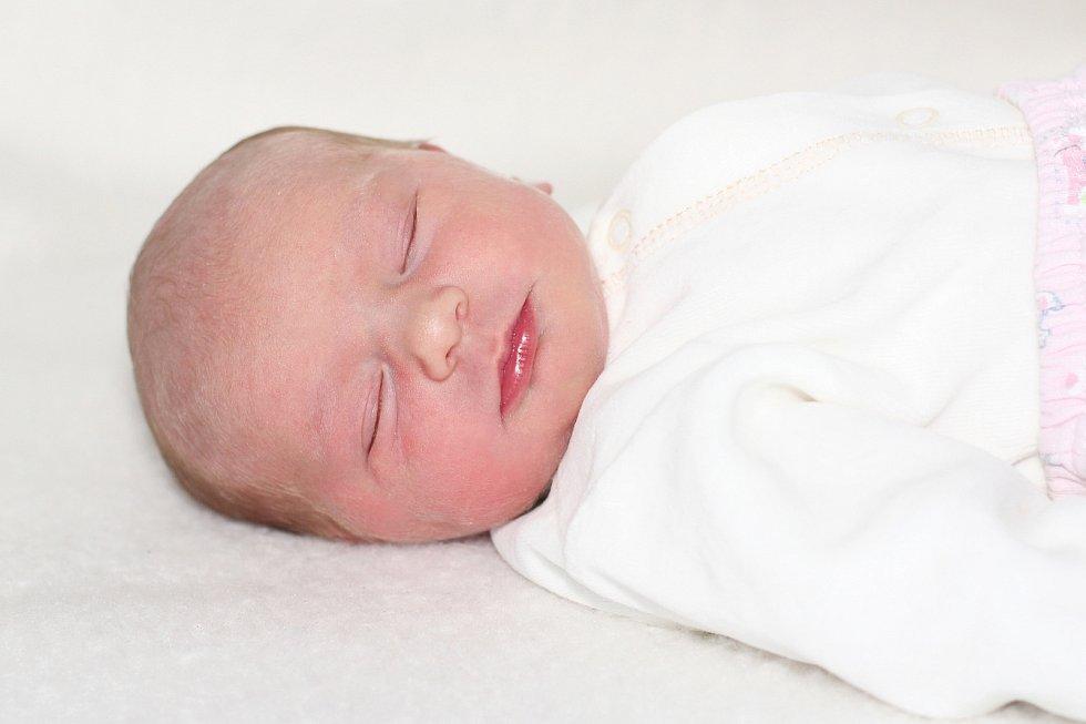Andrea Balounová z Věšína, narozená 9. ledna 2019 rodičům Anetě a Václavovi, vážila 2670 g a doma má brášku Vašíka (3,5).