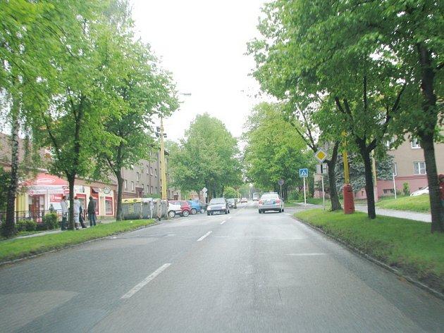 Ulice v Příbrami, které svádí řidiče k rychlé jízdě
