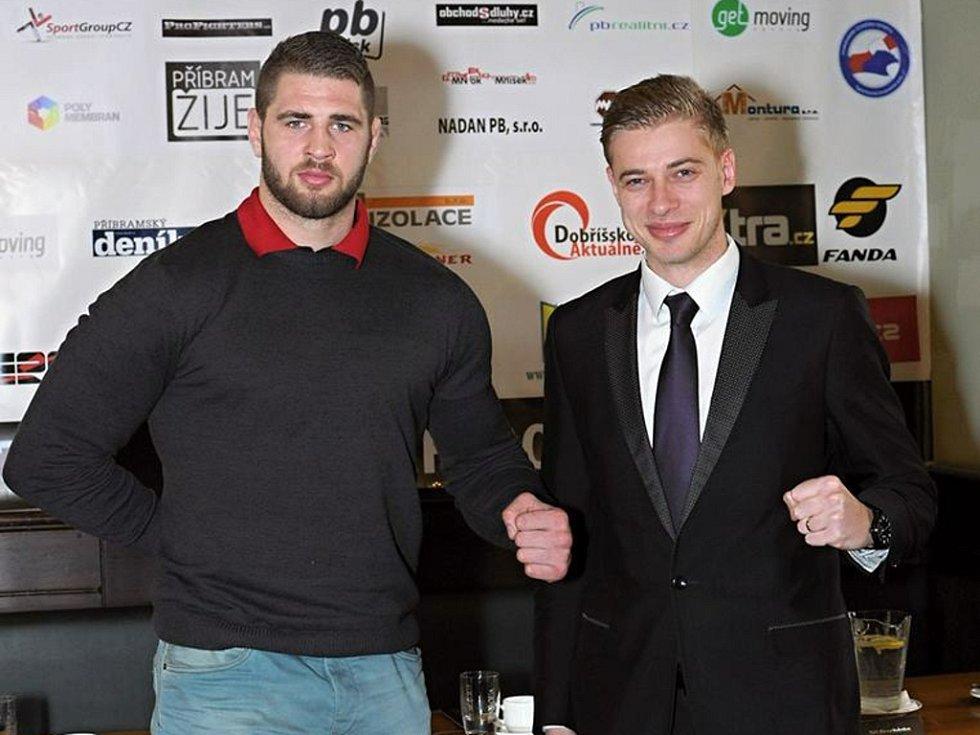 Jiří Procházka (vlevo) a Petr Větrovský.