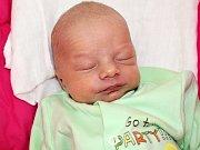 DANÍK UNIVERSAL se narodil v sobotu 29. července o váze 3,48 kg a míře 52 cm rodičům Janě a Danovi z Dobříše.