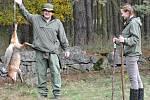 Při honu na uměle odchované bažanty ulovili svatojanští myslivci také dvě lišky.