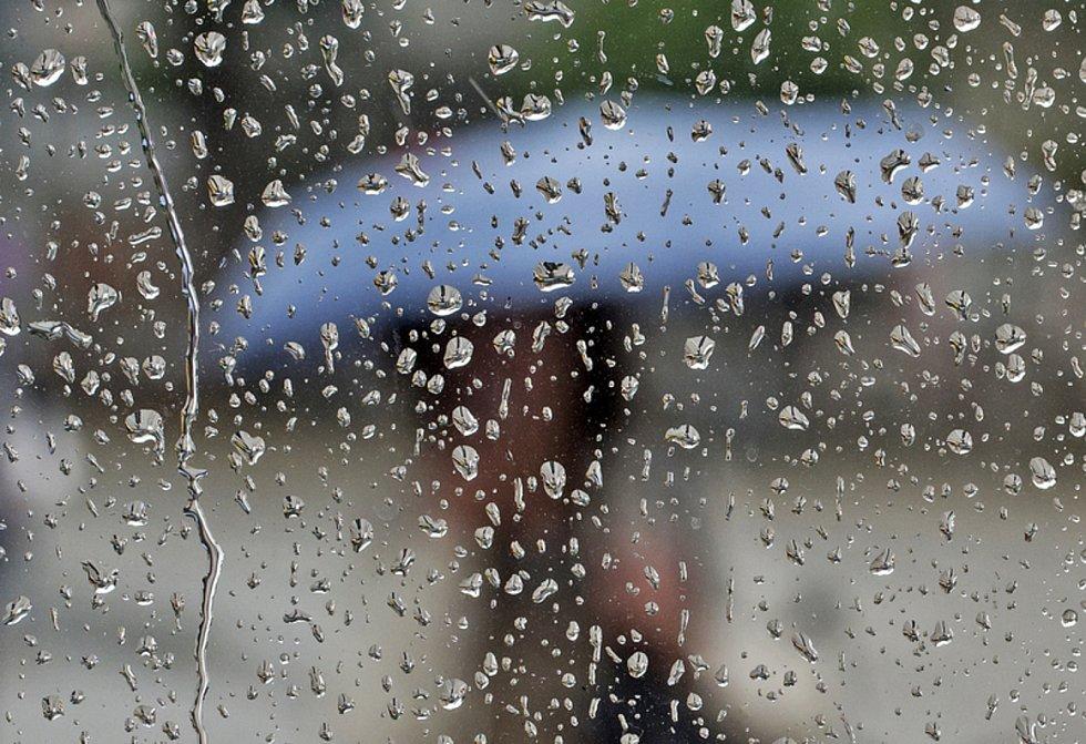 Deštivé počasí - ilustrační foto.