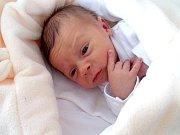 MATYÁŠ DRNEC se narodil rodičům Lucii a Janovi z Dobříše v neděli 1. ledna s váhou 3,66 kg a výškou 51 cm.