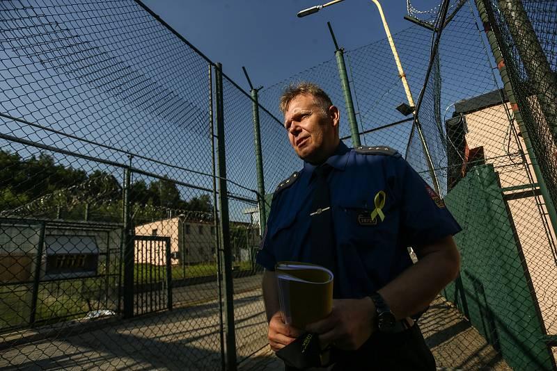 Věznice Příbram v sobotu 24. července 2021. Vladimír Rampas, zástupce vedoucího oddělení výkonu trestu Věznice Příbram.