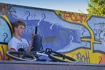 Graffiti. Ilustrační foto.