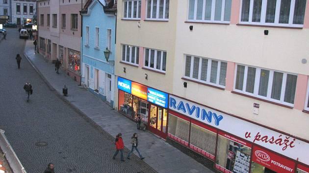 Pražská ulice v Příbrami